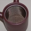 Kyusu-Teekanne Keramik aubergine-metallic 150 ml 2