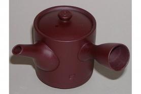 Kyusu-Teekanne Keramik aubergine 150ml 8