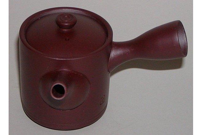 Kyusu-Teekanne Keramik aubergine 150ml 1