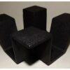 Teewärmer Ore schwarz 13cm x 13cm x 6cm 2