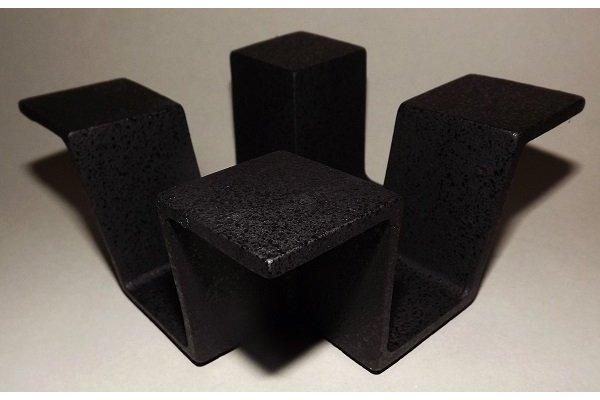 Teewärmer Ore schwarz 13cm x 13cm x 6cm 1