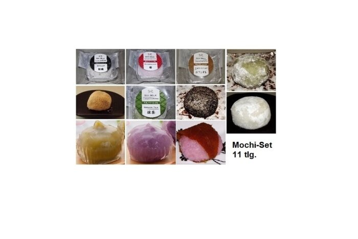 Mochi Sortiment 11-tlg. mit Präsentbox 1