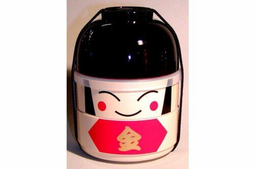 Kokeshi-Bento Kintaro 3 Schalen 1 Deckel 1 Band 12