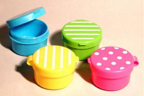Mini-Cups 4 sortiert für Saucen, Gewürze, etc. 5