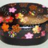 Bento-Box Hana kuro mit Stoffeinlage 3