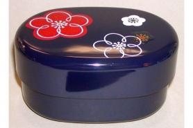 Bento-Box Hana kuro mit Stoffeinlage 9