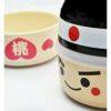 Kokeshi-Bento Momotaru 3 Schalen 1 Deckel 1 Band 2