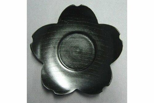 """Untere """"Sakura"""" kuro Holz schwarz lackiert 5"""