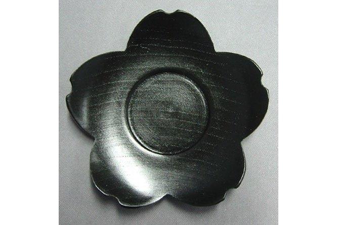"""Untere """"Sakura"""" kuro Holz schwarz lackiert 1"""