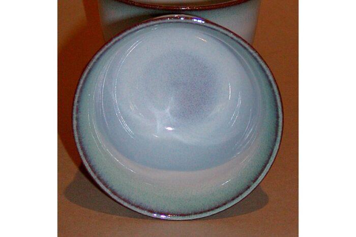Teetasse hell-blau/-türkis 1