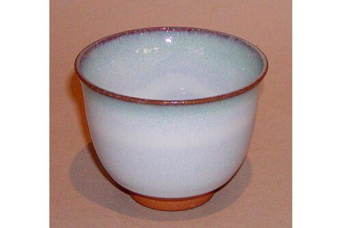 Teetasse hell-blau/-türkis 7