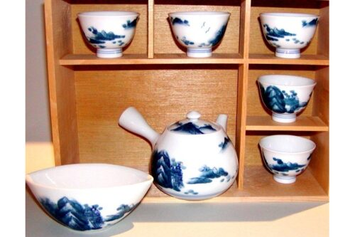 Set für Gyokuro/Kabuse und andere Edel-Tees 7tlg. 7