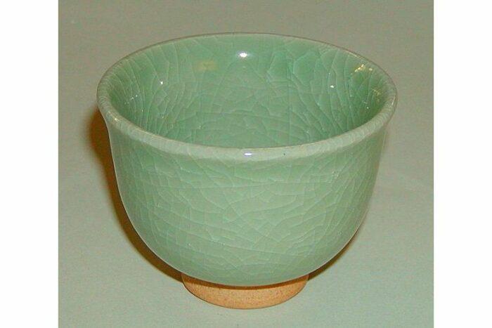 Teecup Celadon grün 1