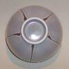 Teetasse grau mit Streifen 3