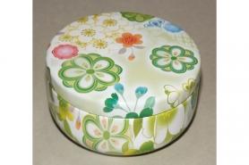 Teedose Blech lackiert Akakuro 8