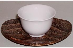 Gyokuro-Tasse weiss 40 ml (ohne Untere) 7