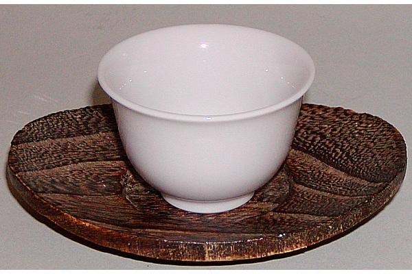 Gyokuro-Tasse weiss 40 ml (ohne Untere) 1