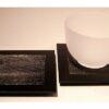 Zedernholz-Unikat schwarz 9 cm x 9 cm 2