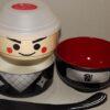 Kokeshi-Bento Ninja 3 Schalen 1 Deckel 1 Band 2