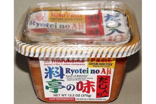 Miso Ryotei no Aji Marukome 375g 5