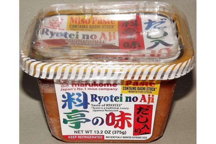 Miso Ryotei no Aji Marukome 375g 1