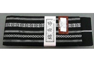 Kaku-Obi Classic schwarz-weiß 12