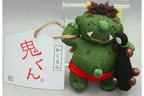 Ao Oni Anhänger / Schutz-Amulett 7 cm 7