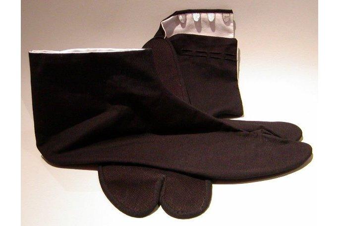 Tabi traditionell schwarz 26cm 1