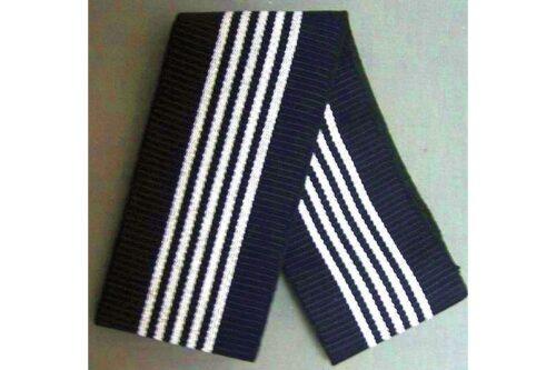 Kaku-Obi schwarz-blau mit weiß 11