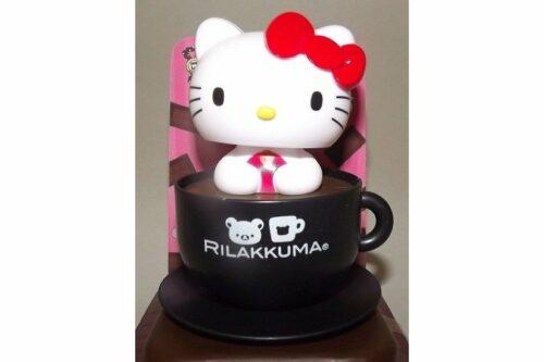 Wackelkopf Hello Kitty Tasse schwarz (Asien) 5
