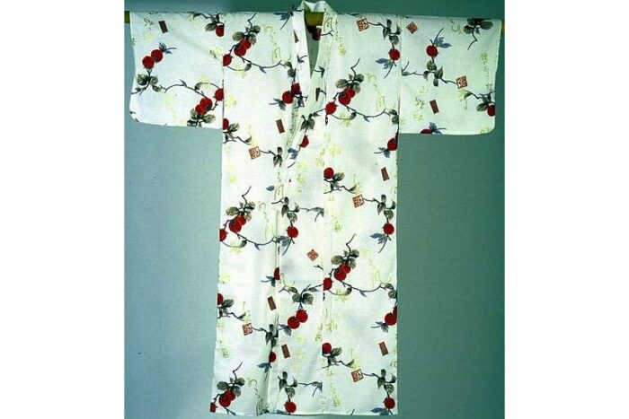 Kimono Kaki ecru Größe L 1