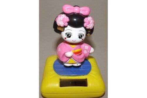 Wackelkopf Maiko pink (Asien) 2