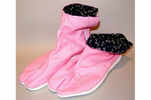 Jikatabi Tombo pink 26cm 2
