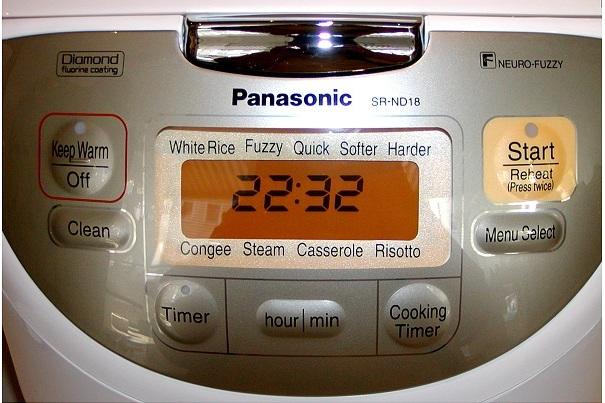 Orig. Jap. Reiskocher 1.8 L Panasonic 3