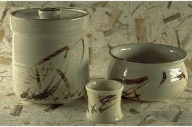 Keramik-Set Oribe 3 tlg. 6