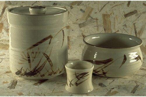 Keramikset Shino 3 tlg 12
