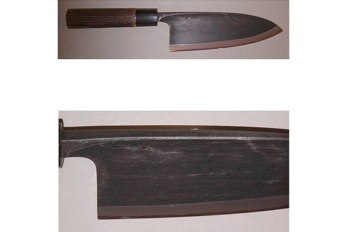 Yoshikane Deba V2 Kurouchi 170 mm Klingenlänge 1