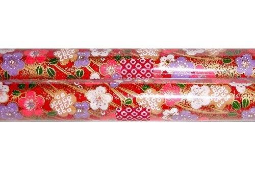 Chiyogami-Papierbogen gerollt 4