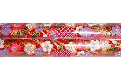 Chiyogami-Papierbogen gerollt 1