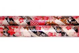 Chiyogami-Papierbogen gerollt 8