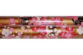 Chiyogami-Papierbogen gerollt 7