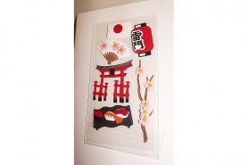 Geschenk-Gutschein Stickerkarte Nippon taupe 7