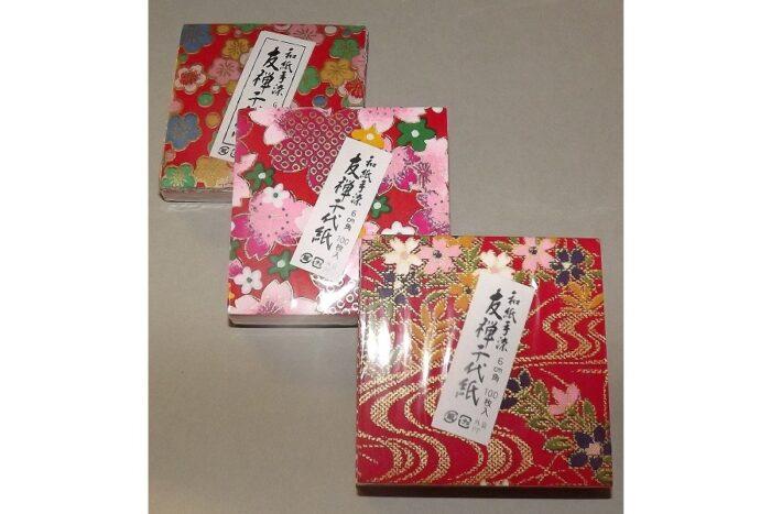 Chiyogami Bastel-Set 6 cm x 6 cm 1