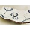 Keramik Platte/Teller Awase blau-weiß 2