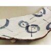 Keramik Platte/Teller Awase blau-weiß 3