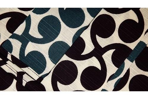 Furoshiki Kurosu Pointo deeppurple-blue 48cm 1