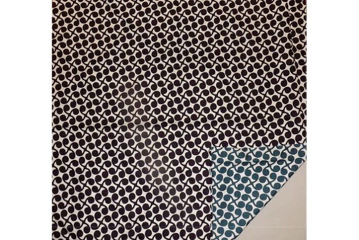 Furoshiki Kurosu Pointo deeppurple-blue 48cm 2