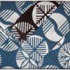 Furoshiki Maru blue/chocolate 104cm 2