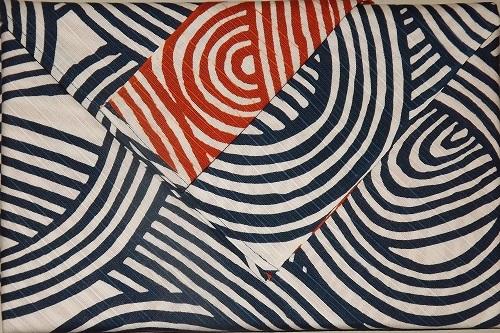 Furoshiki Shima blue/red 104cm 1