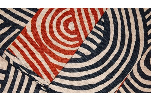 Furoshiki Shima blue/red 104cm 4